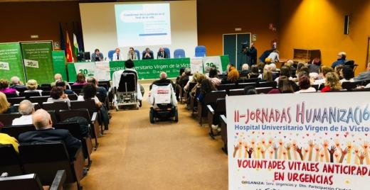 II Jornada de Humanización del Hospital Virgen de la Victoria