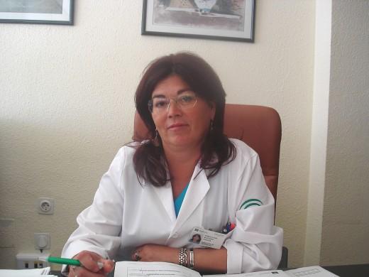 Inmaculada Martínez, responsable del Área de Cuidados