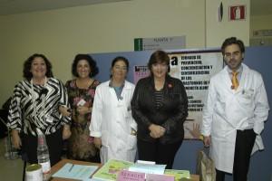Dª Rosa Sanz Sandoval presidenta de ADANER Málaga