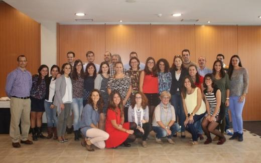 Participantes en la Primera Jornada de Nutrición para residentes