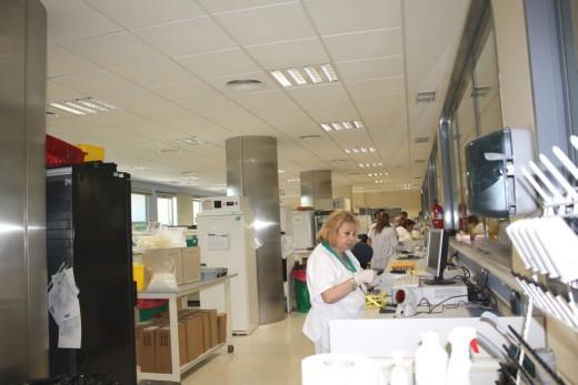 una de las salas del Laboratorio de Análisis Clínico