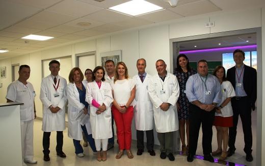 El Hospital Regional de Málaga acomete trabajos de adecuación de infraestructura