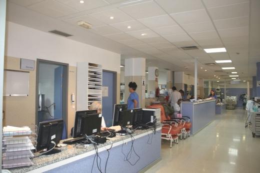 Área de Observación del servicio de Urgencias