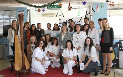 Profesionales y responsables del Conservatorio Superior de Música de Málaga