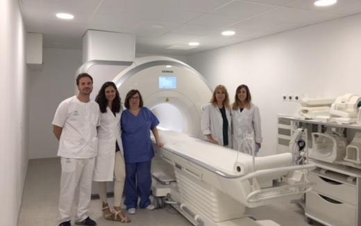 Resonancia magnética del Hospital Valle del Guadalhorce