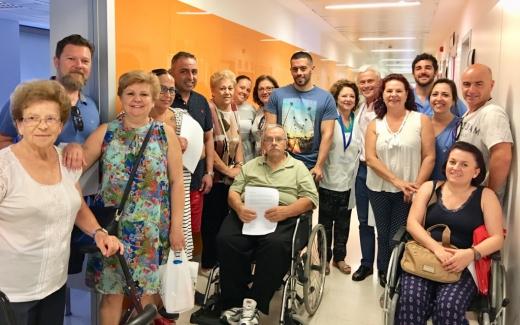 El Hospital Virgen de la Victoria reduce los niveles de estrés