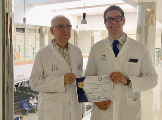 Especialista del Hospital Virgen de la Victoria recibe el premio a mejor tesis