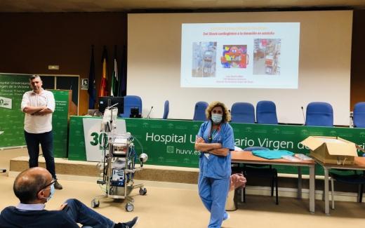 El Hospital Virgen de la Victoria incorpora nuevo equipo de soporte vital