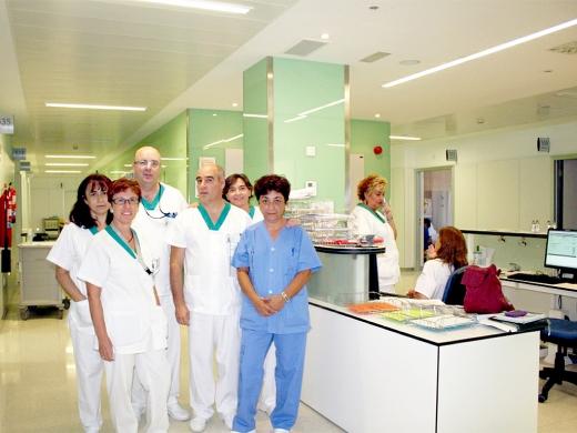 Profesionales de Medicina Interna en el área de Hospitalización