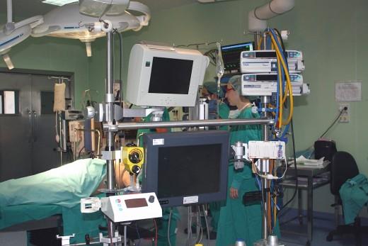 Quirófano de Cirugía Cardiaca