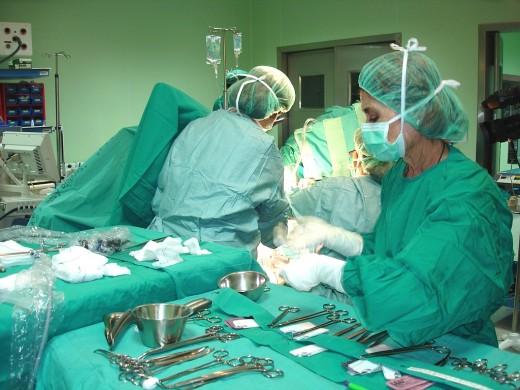 Quirófanos del Hospital Universitario Virgen de la Victoria