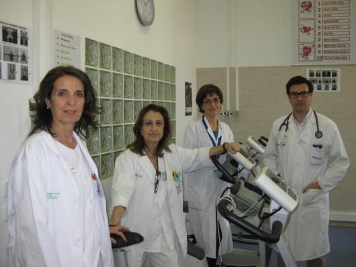 Profesionales del Hospital Regional de Málaga