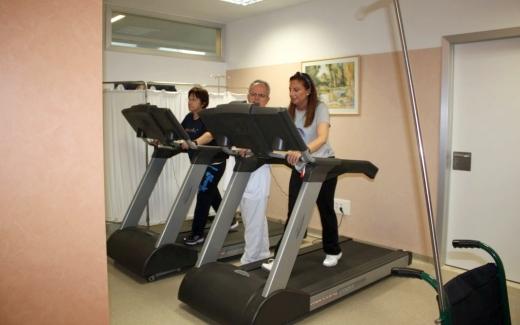 El gimnasio de Rehabilitación Cardíaca del Hospital Virgen de la Victoria