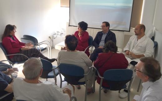 Encuentro con responsables de la Unidad de Urología del Hospital Virgen Victoria