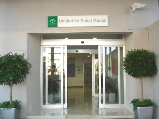 Entrada Principal de la Unidad de Agudos del Hospital Virgen de la Victoria
