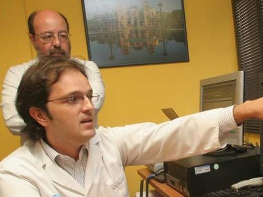 Imagen de archivo del servicio de teledermatología del Hospital Carlos Haya