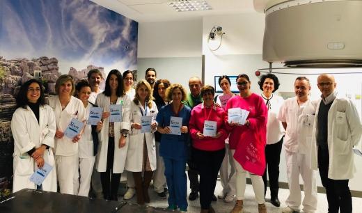 Pacientes y familiares del área asistencial de Oncología Médica y Oncología Radi