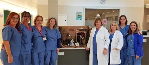 Profesionales de Urgencias del Hospital Valle del Guadalhorce