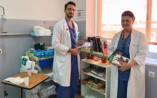 Los Hospitales Virgen de la Victoria y Valle del Guadalhorce fomentan la lectura