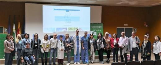 Profesores de universidades y escuelas europeas y marroquíes visitan el Hospital