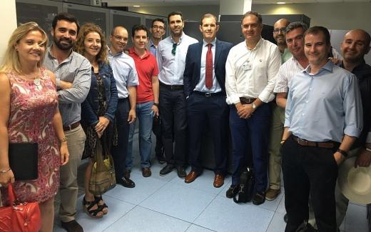 Visita de los Subdirectores provinciales de Tecnología de la Información