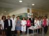 Punto de información en el Día Mundial contra el cáncer de mama 2013