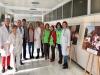 El Hospital Virgen de la Victoria acoge estos días la exposición de AECC