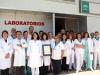 Profesionales de los Laboratorios del Hospital Virgen de la Victoria de Málaga