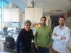 Francisco José Tionahones junto con investigadores de IBIMA