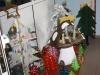 Detalle de los adornos navideños realizados por los pacientes de Salud Mental