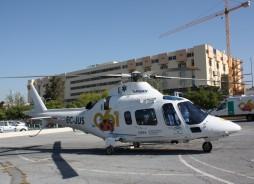 Helicóptero del Servicio de Emergencias 061