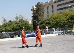 Profesionales del Servicio de Emergencias 061