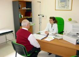 Consulta del Hospital de día de Oncología