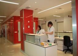 Control de Enfermería de una de las Plantas de Hospitalización