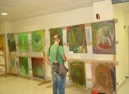 Exposición de pinturas del Día de la Salud Mental